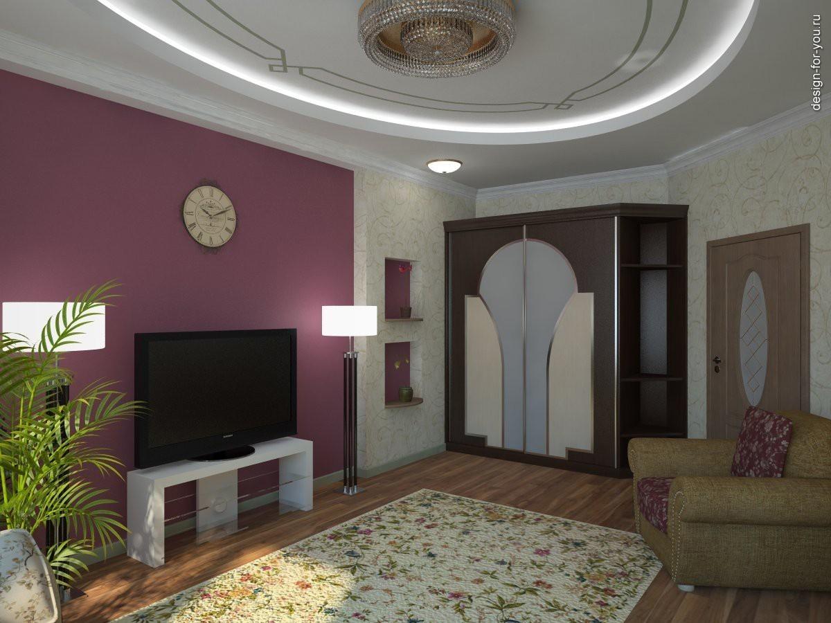 Варианты интерьера зала фото