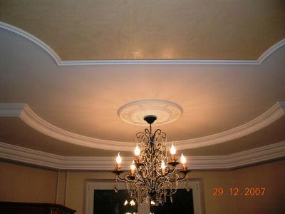 Дизайн гостиной комнаты потолок