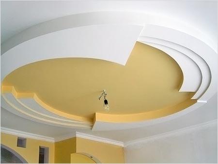 Потолок в кухне своими руками фото