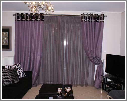 тюль шторы для зала фото.